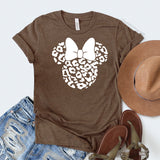 Minnie Mouse Leopard Shirt, Animal Kingdom Disney Shirt, Safari Animal Kingdom Shirt