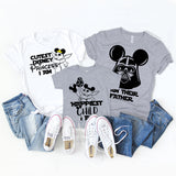 I'm Their Father / Darth Vader Mickey Shirt - Disney MatchingShirts, Disney Family Shirts, Disney Couple Shirts from The FMLY shop