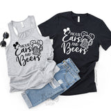 Mouse Ears and Beers / Epcot Couple Matching Shirts - Disney MatchingShirts, Disney Family Shirts, Disney Couple Shirts from The FMLY shop