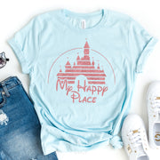 My Happy Place Rose Gold Disney T-shirt