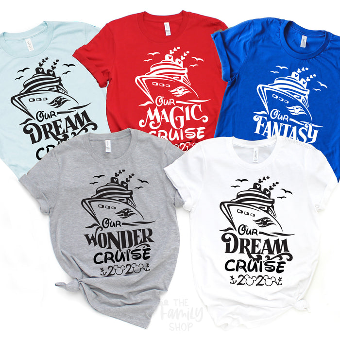 Disney Dream Cruise 2021 Family Shirts, Disney Magic Cruise Shirts, Disney Wonder Cruise Shirts, Disney Fantasy Cruise