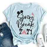 Spring Break Disney 2021 Shirt, Disney Spring Break 2021 Shirt