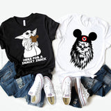 Chewie in Mickey Ears T-shirt | Star Wars - Disney MatchingShirts, Disney Family Shirts, Disney Couple Shirts from The FMLY shop