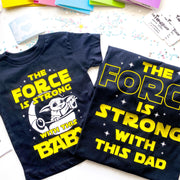 Star Wars Father and Son Matching Shirts, Set of 2, Father's Day Gift