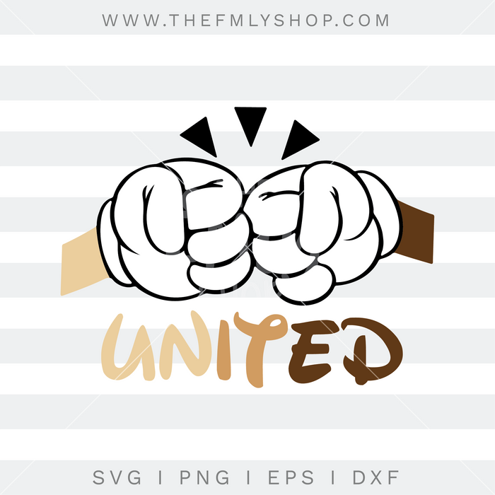 United Free SVG, Black Lives Matter Free SVG, United Disney SVG, 0005