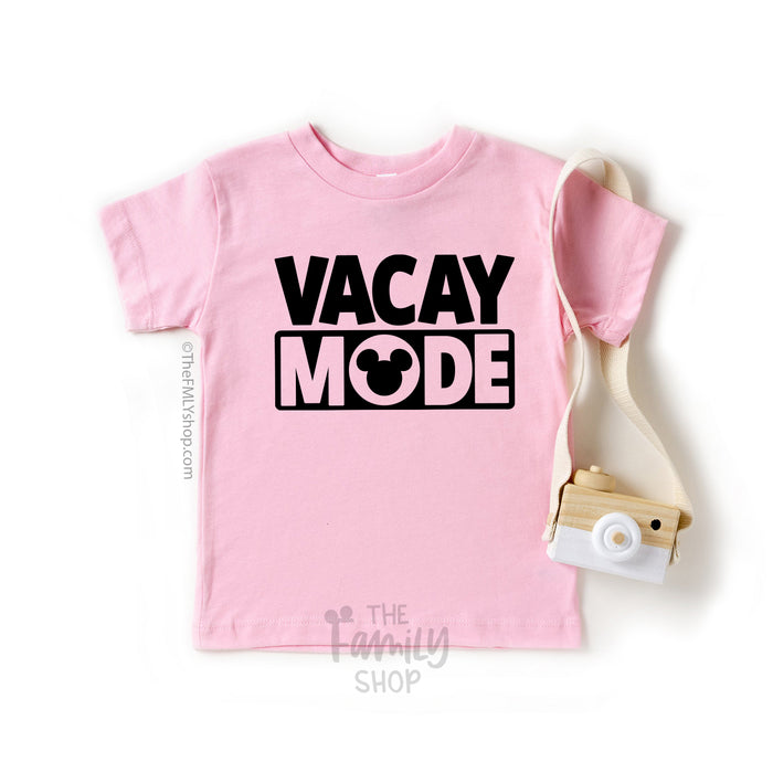Vacay Mode Disney T-shirt / Kids Size - Disney MatchingShirts, Disney Family Shirts, Disney Couple Shirts from The FMLY shop