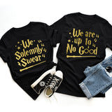 We Solemnly Swear We Are Up To No Good / Harry Potter Couple Shirts