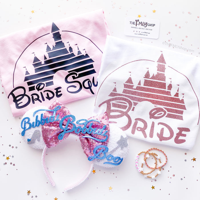 Disney Bachelorette Shirts, Disney Bride Shirt, Disney Bridesmaid Shirt