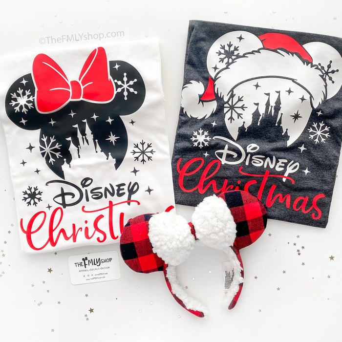 Disney Christmas Matching Shirts, Christmas Disney Group Shirts, Disney Family Matching Shirts, All sizes NB-2X