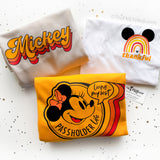 Thankful Mickey Rainbow T-shirt