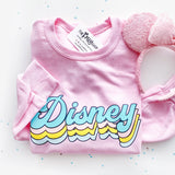 Disney Retro Font Sweatshirt