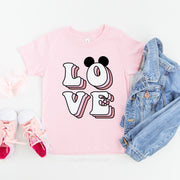 Love Disney Valentine's Day Shirt, Kids Size