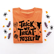 Trick or Treat Yo'self Disney Halloween Shirt, Disney Halloween Snacks Shirt