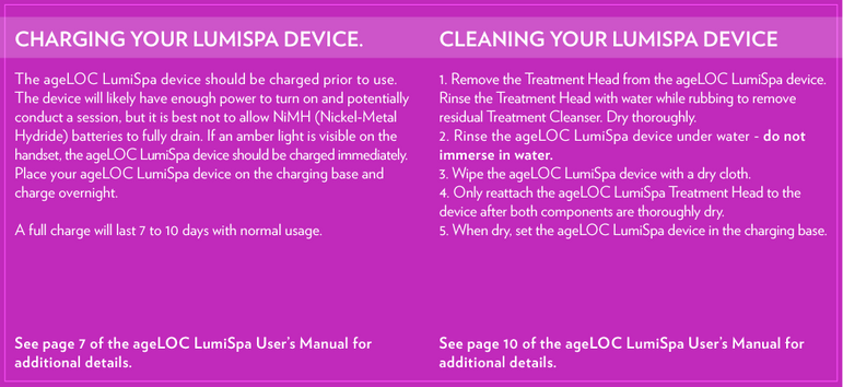ageLOC | LumiSpa Kit - Normal/Combo - PACKS - Nu Skin - MC Beauty Buys