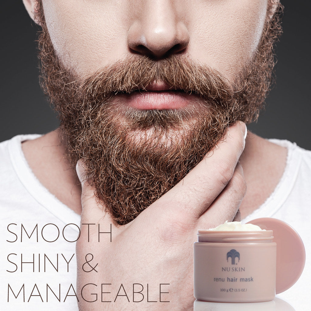 Renu Hair Mask - Men's - Nu Skin - MC Beauty Buys
