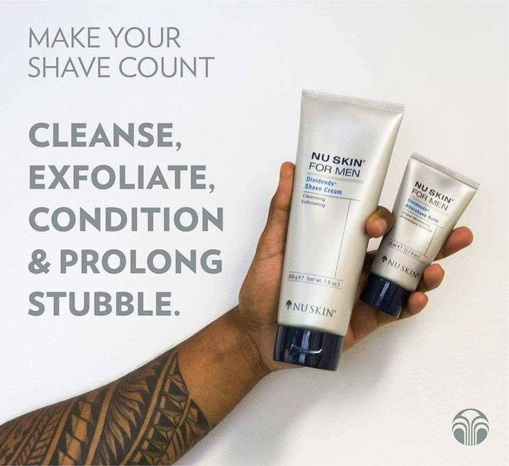 Dividends | Shave Cream + Aftershave Balm - Men's - Nu Skin - MC Beauty Buys