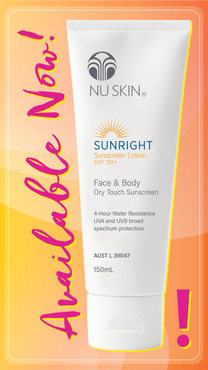 Sunright | Sunscreen Lotion SPF 50+ - Body Care - Nu Skin - MC Beauty Buys