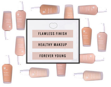 NU COLOUR | ADVANCED LIQUID FINISH WITH SUNSCREEN - 11 Shades - Make Up - Nu Skin - MC Beauty Buys