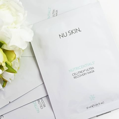 Nutricentials | Celltrex Ultra Recovery Mask - Skin Care - Nu Skin - MC Beauty Buys