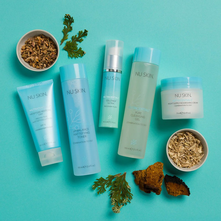 Nutricentials | Combination to Oily Skin - PACKS - Nu Skin - MC Beauty Buys