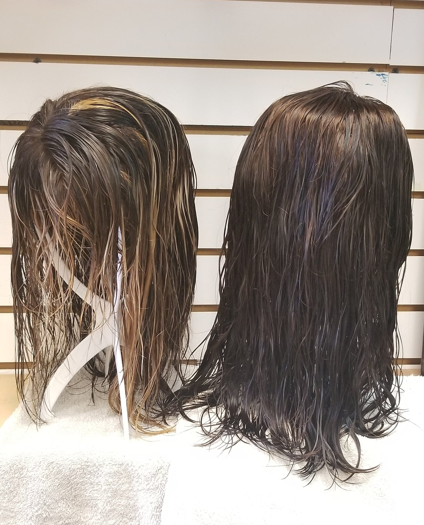 Deep conditioned wig