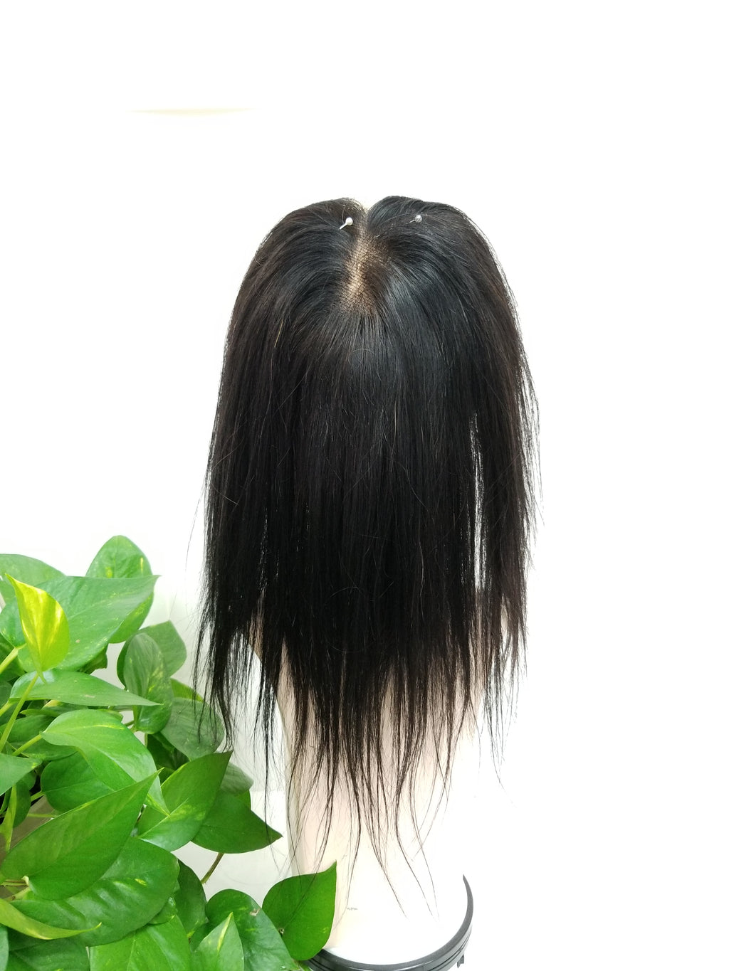 10030 Human Hair Topper Made by Lucy - Wigs Only 4 You