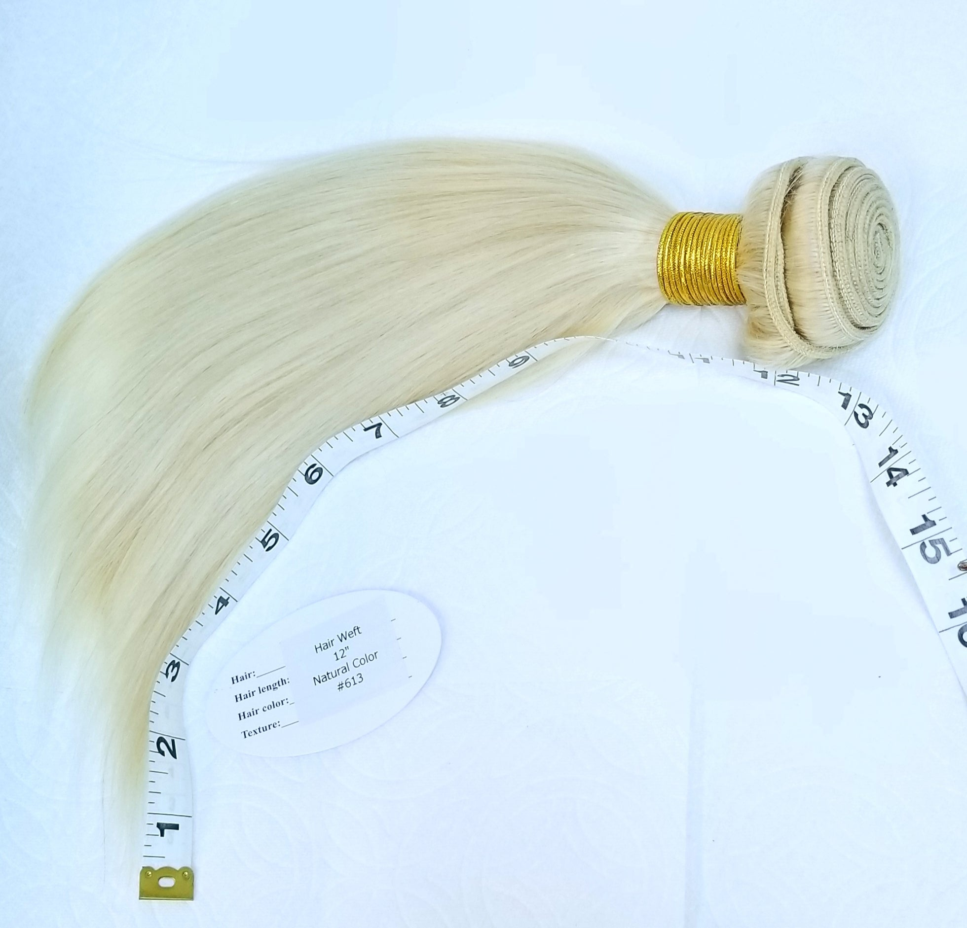 Brazilian Remy Human Hair 10124 (Brazilian Remy HH Weft Extension)