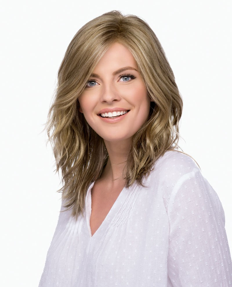 ESTETICA, ASPEN, Below the Shoulder Style with Loose Waves