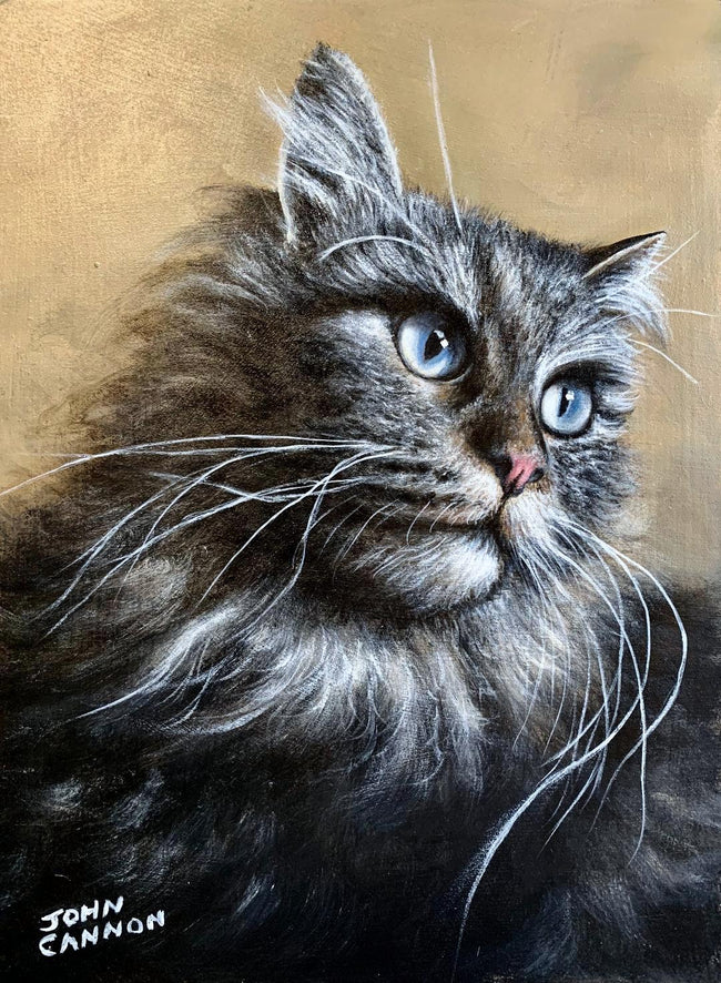 Cats Deserve Portraits, Too
