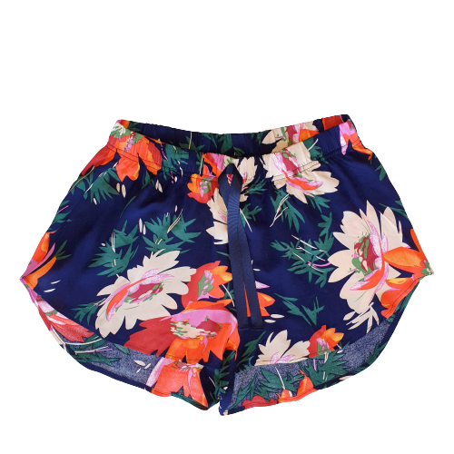 Shorts Lounge Set (Cami+Shorts) - Fiore Navy