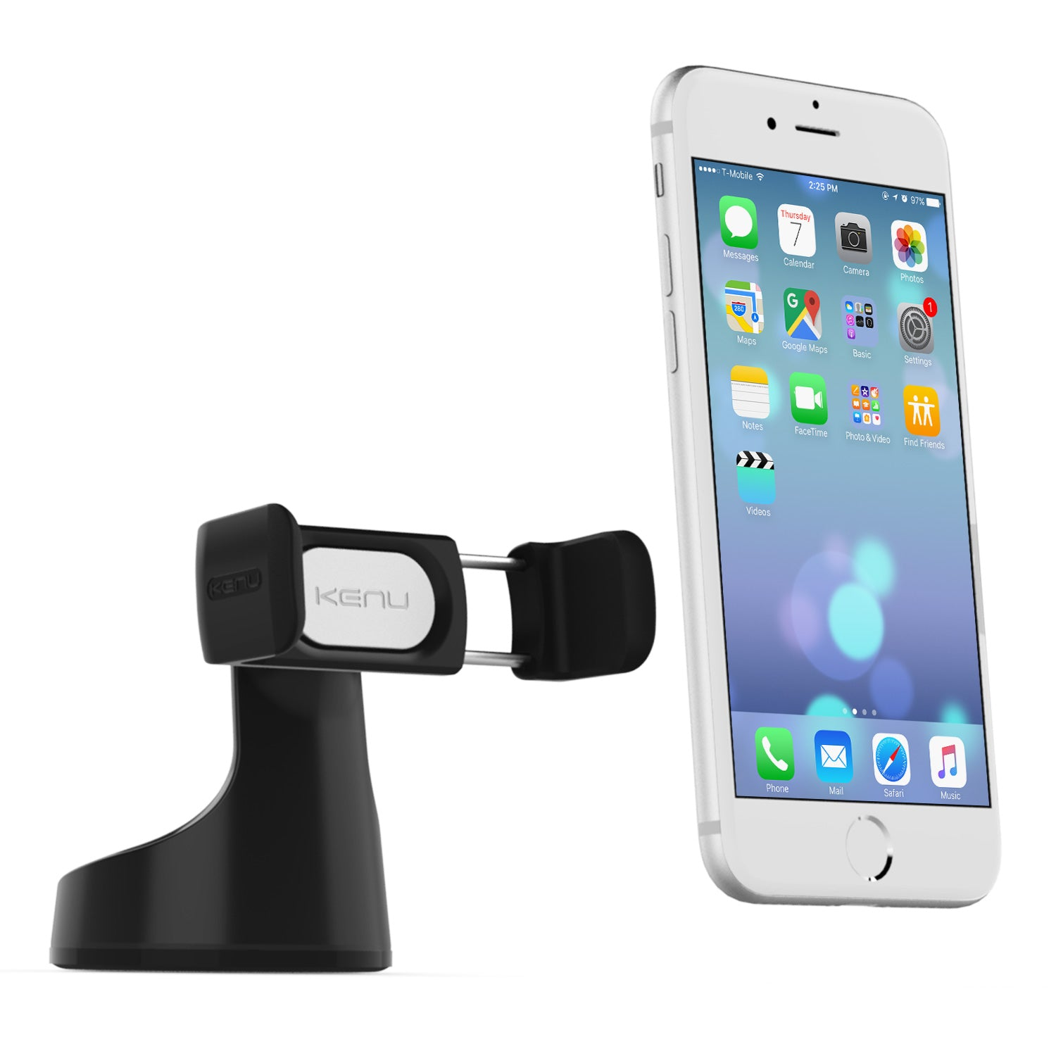Kenu Airbase Pro Car Suction Mount Car Cell Phone Holder iPhone Samsung Galaxy Android
