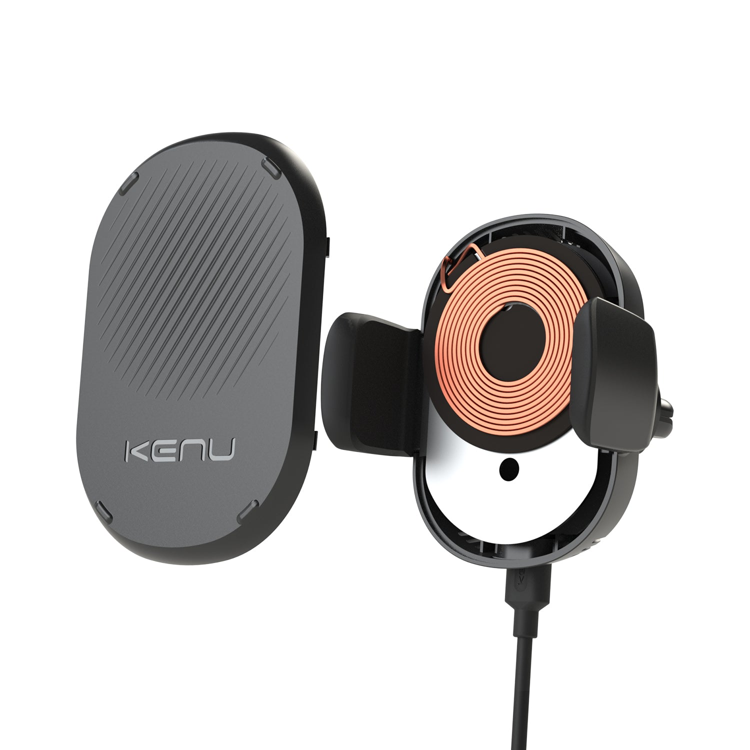 Kenu Airframe Wireless Qi-Charging Car Vent Mount iPhone Samsung