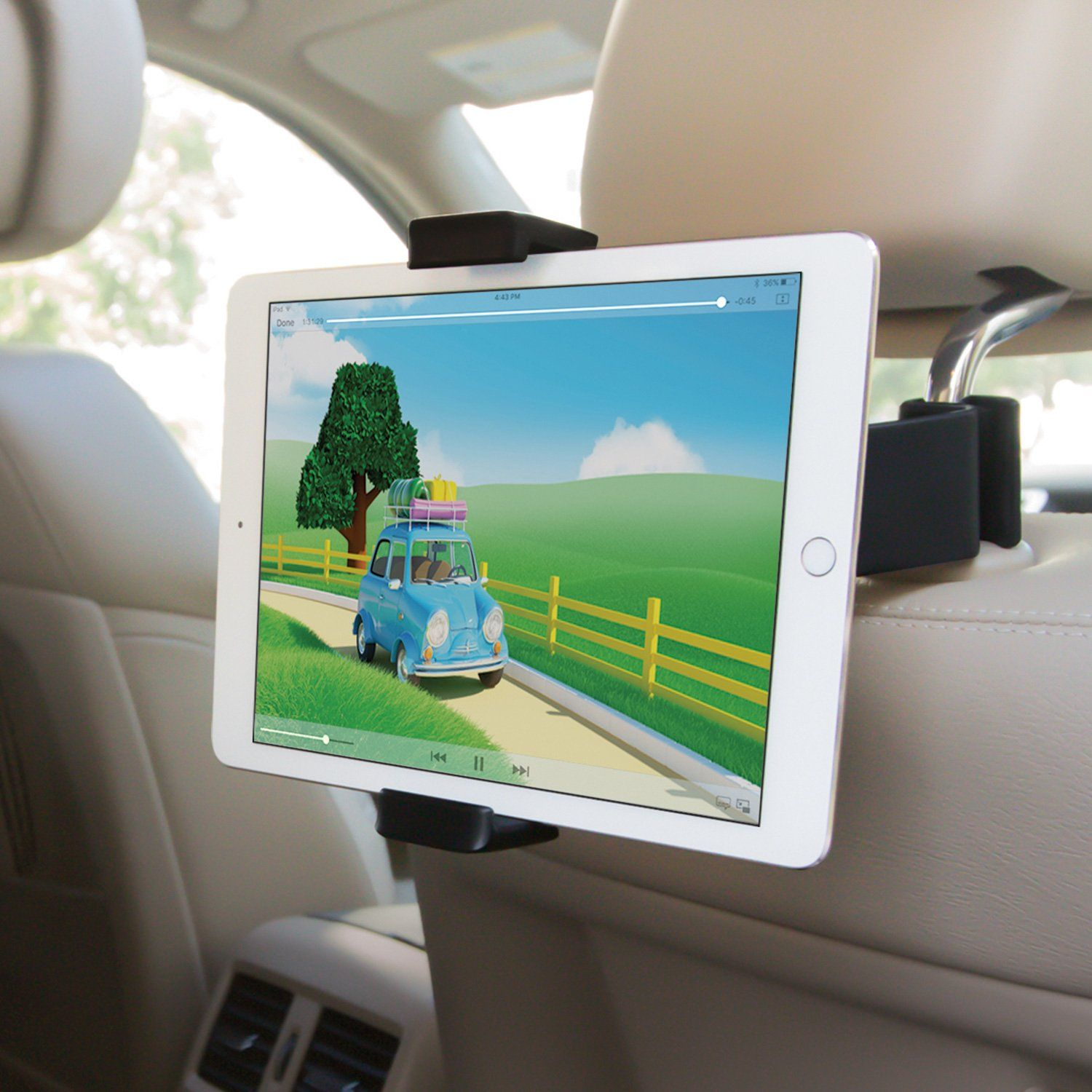Airvue Car Tablet Mount - Elegantly designed and easy to