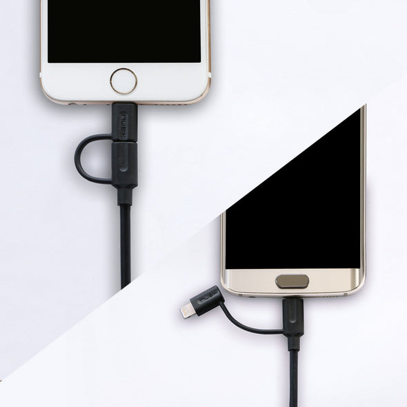 Tripline Lightning & Micro-USB Cable