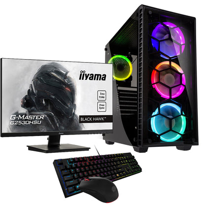 Pack Gaming 75Hz - Intel Core i3-DDR4 16Go-GTX 1660-SSD 1To