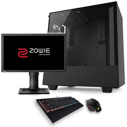 Pack Gaming ESPORT 144Hz - Intel Core i5-DDR4 16Go-RTX 2070-SSD 1To-HDD 2To