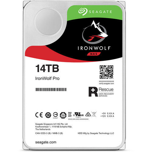 Seagate IronWolf Pro, 14 To