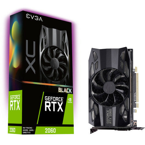 EVGA GeForce RTX 2060 XC BLACK GAMING, 6 Go