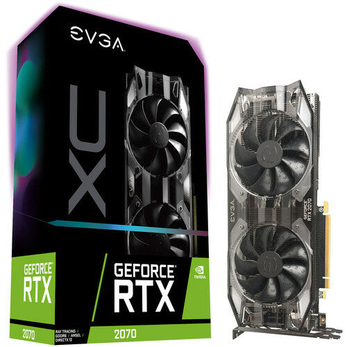 EVGA GeForce RTX 2070 XC GAMING, 8 Go