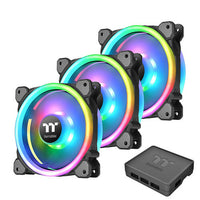 Thermaltake Riing Trio 12 RGB Premium Edition, 120 mm (Pack de 3)