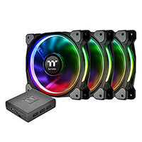 Thermaltake Riing Plus 14 RGB Premium Edition, 140 mm (Pack de 3)