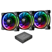Thermaltake Riing Plus 12 Premium Edition, 120 mm (RGB) (Pack de 3)