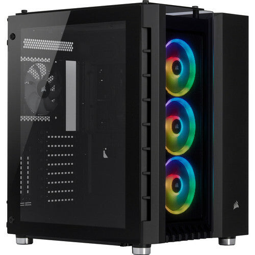 Corsair Crystal Series 680X RGB Tempered Glass, Noir