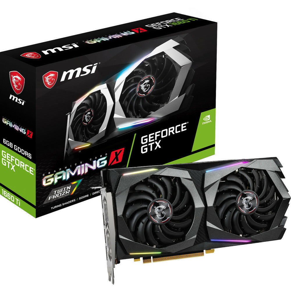 MSI GeForce GTX 1660 Ti GAMING X 6Go