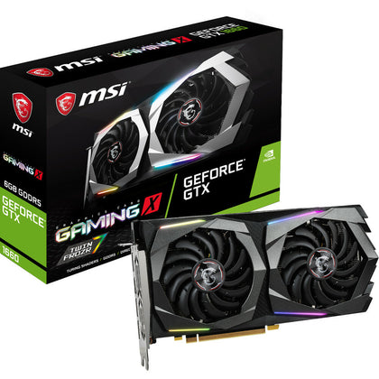 MSI GeForce GTX 1660 GAMING X 6Go