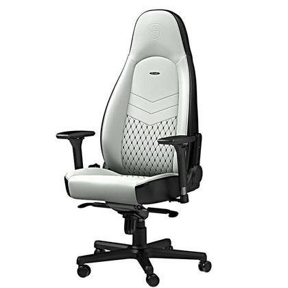 Noblechairs SIMILI CUIR ICON BLANC / NOIR