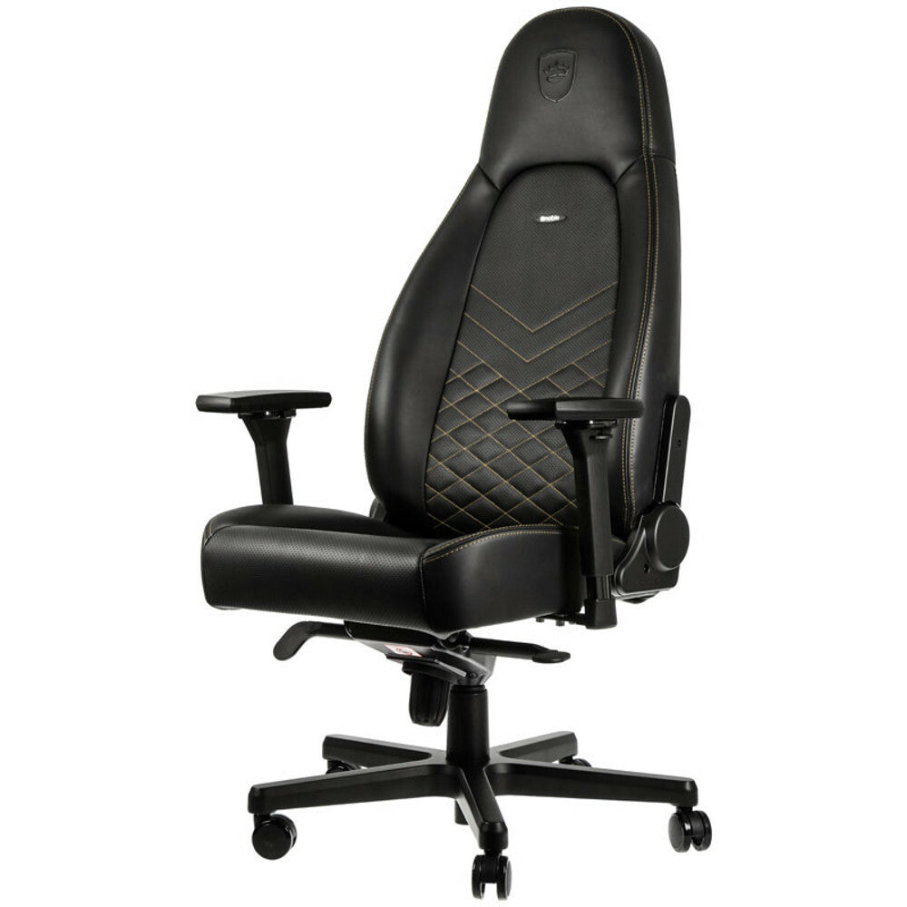 Noblechairs SIMILI CUIR NOIR / OR