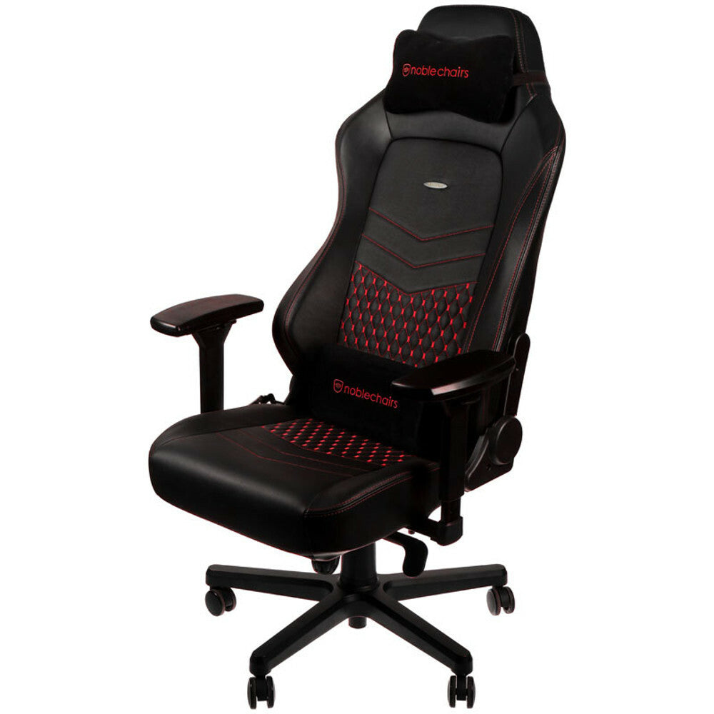 Noblechairs CUIR VERITABLE HERO NOIR / ROUGE