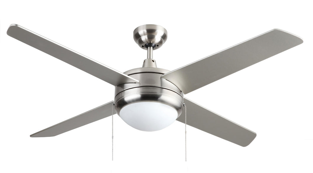 "RP Ceiling Fan Europa – 4-Blade, 50"" Sweep,"