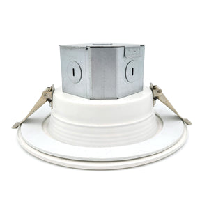 "BODLED 6"" LED Easy Install LED Downlight With J-Box Cool White 960 Lumens"